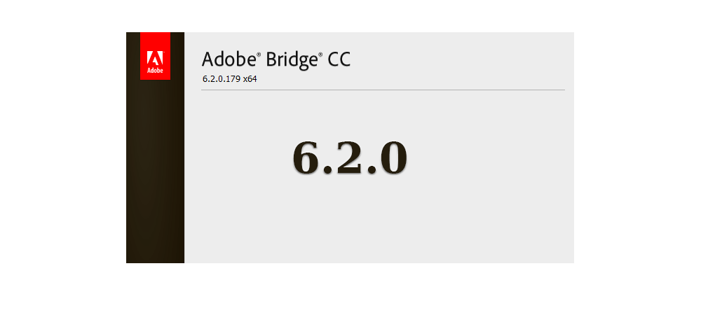 Adobe Bridge CC 6.2 update