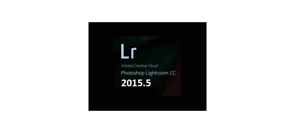 Adobe Lightroom 2015.5 update
