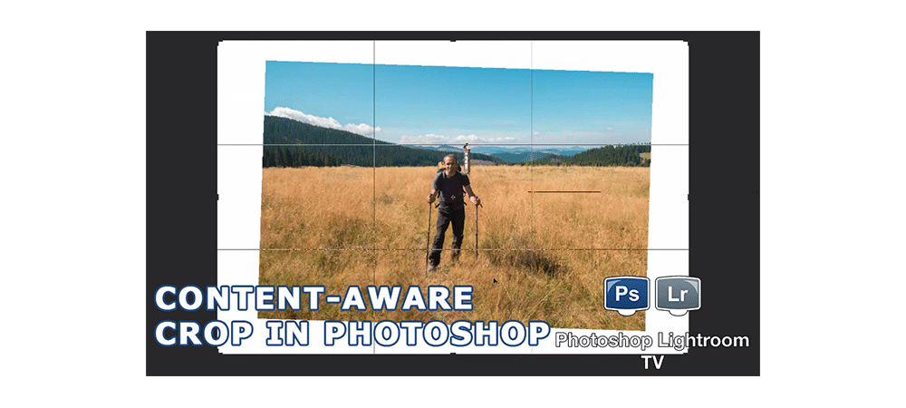 Content-Aware Crop in Photoshop CC 2015.5
