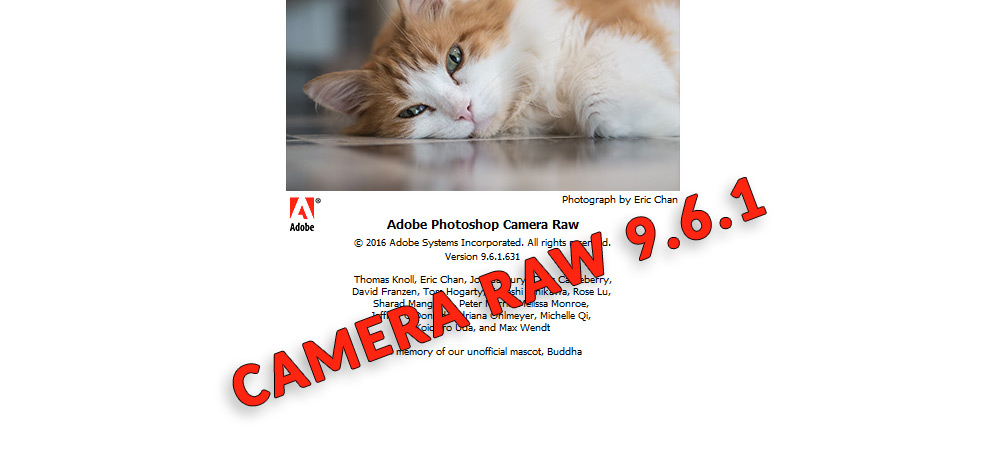 Adobe Camera Raw 9 update