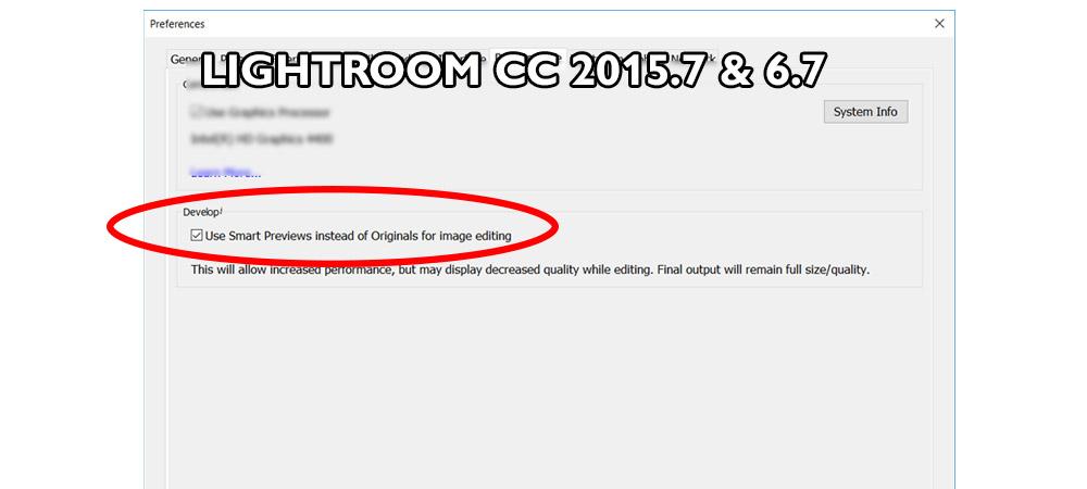 Adobe |Lightroom CC update