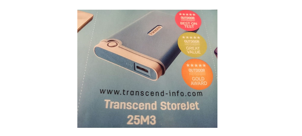 Portable Hard drives - Transcend StoreJet