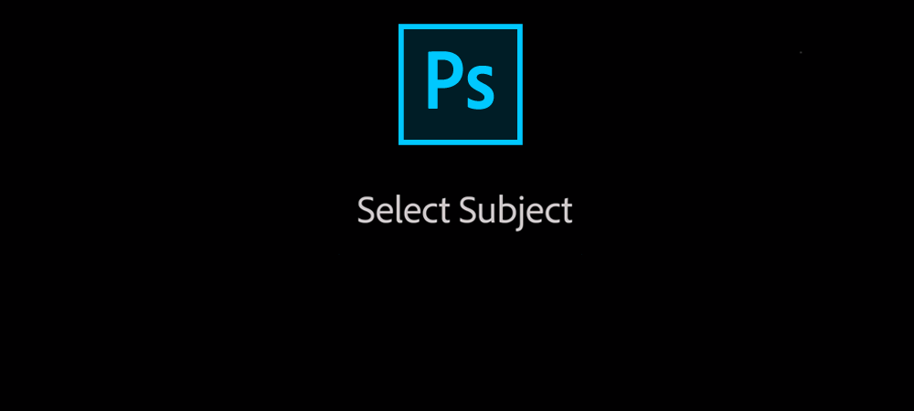 Select subject in Photoshop CC