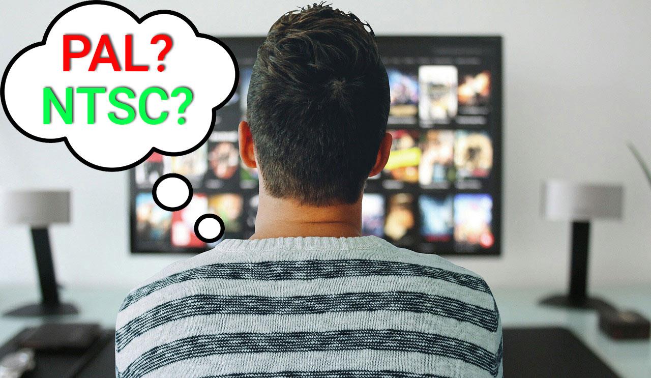PAL vs NTSC video