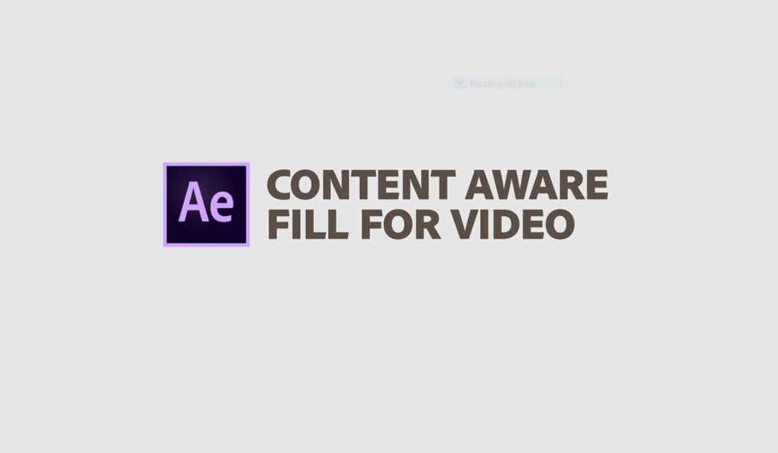 Content-Aware in AE