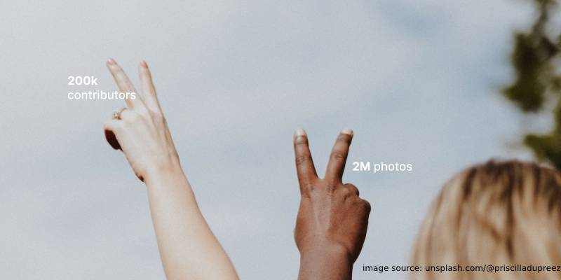 2M images Unsplash